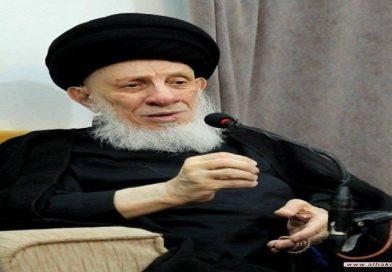 فقد *المرجع الديني الكبير آية الله العظمى السيد محمد سعيد الحكيم
