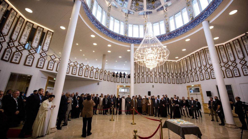 imam ali moskeen åbning
