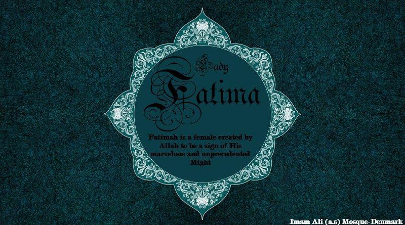 lady fatima al-zahra