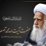 آیت الله محمد آصف محسنی