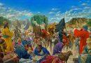 تابلو نقاشی حدیث «سلسله الذهب» یا شرط توحید